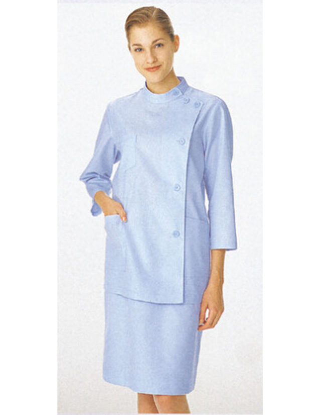 Asymmetry Nursing dress three-quarters sleeve