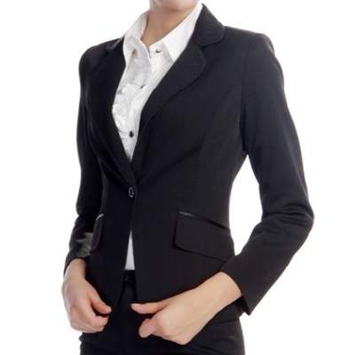 Black suiting for women tight style