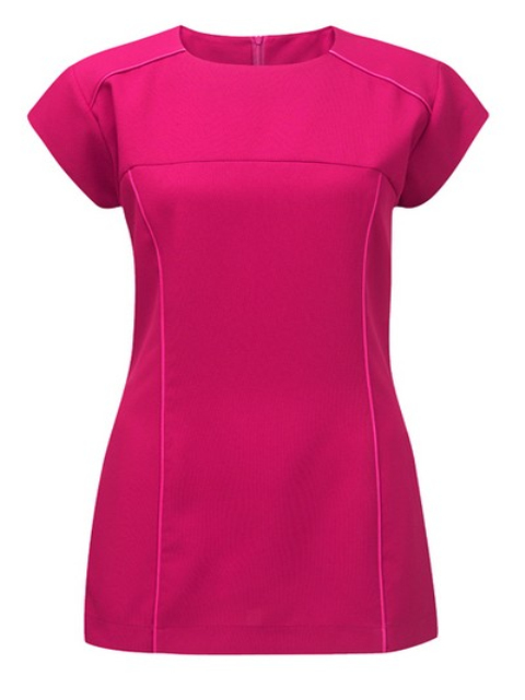 Collarless satin cord Beauty tunics