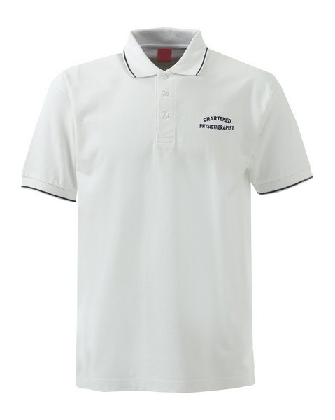 Physiotherapist polo shirt can be embroidered