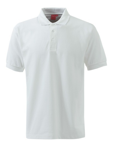 Polo shirt with lapel collar