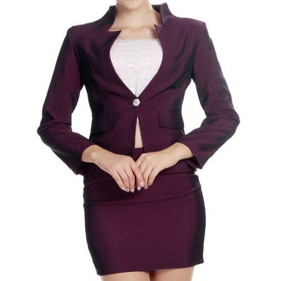 Rose color women suiting