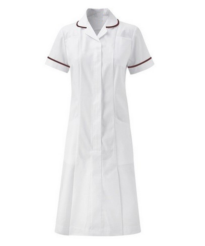 Round collar nursing dress
