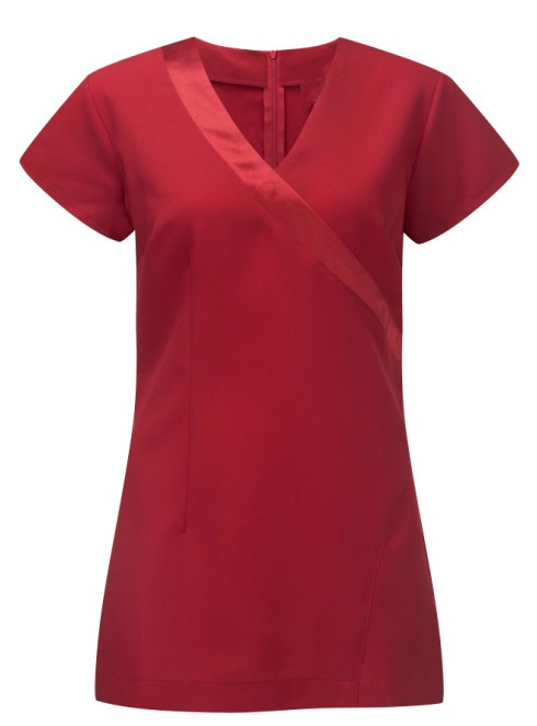 Satin trim beauty tunic
