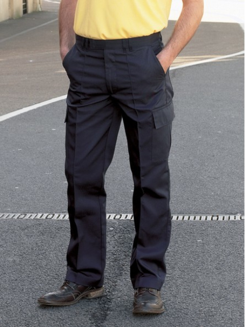 Thick male trousers with side pocket