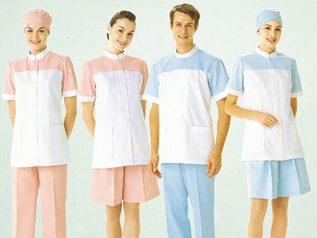 Various styles Nursing dress with width color trim