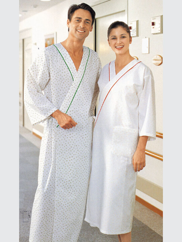 Women healthcare with three-quarters sleeve
