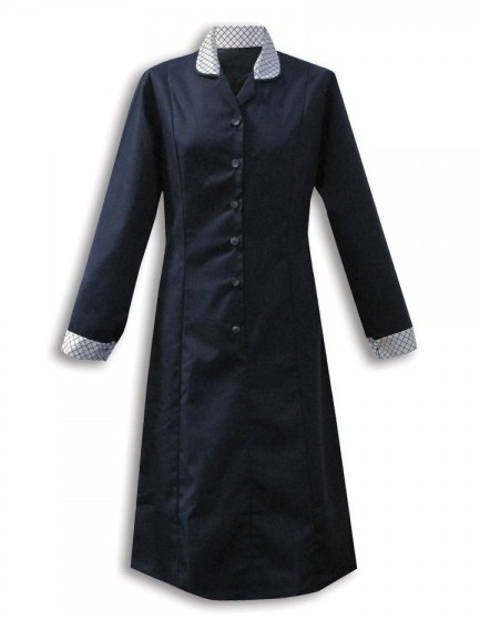 Women housekeeping dress long sleeved