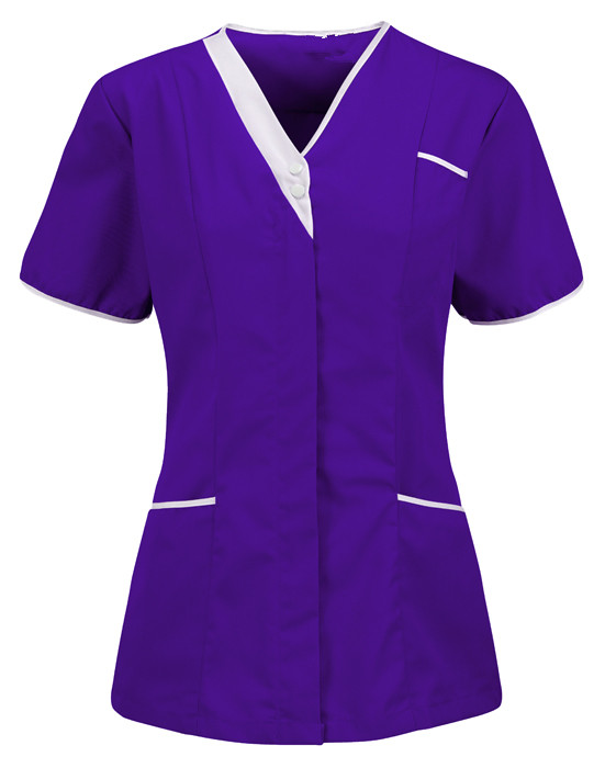 nurse tunic collarless